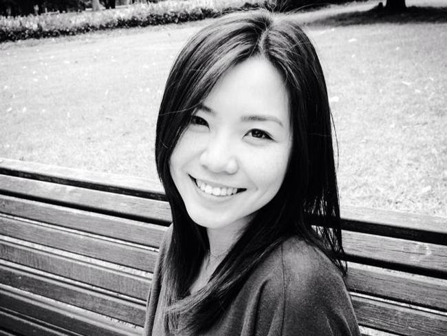 Elaine Teoh, a 27-year-old Melbourne University student.