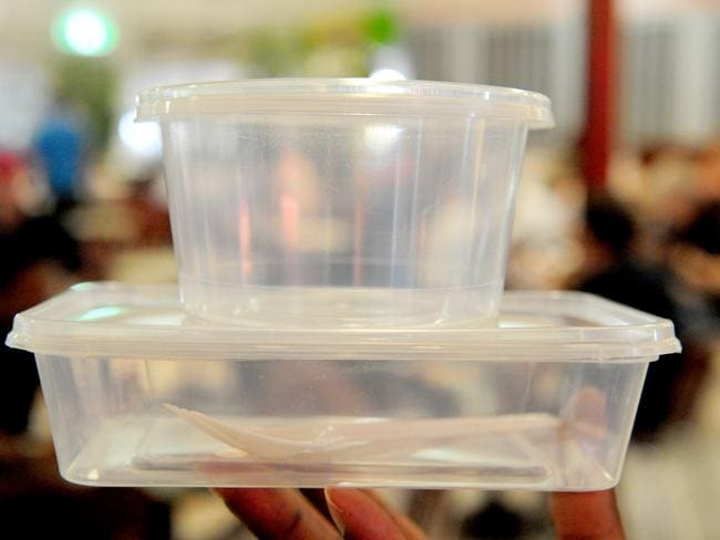 Plastic containers will be gone from Hobart in 2020.