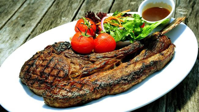 Just because a 1.2kg steak is #paleo doesn't mean you'll lose weight eating it. Picture: John Appleyard