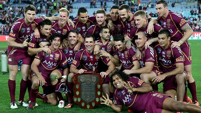 Queensland's grip on the State of Origin title is as tight as ever. Picture: Gregg Porteous.