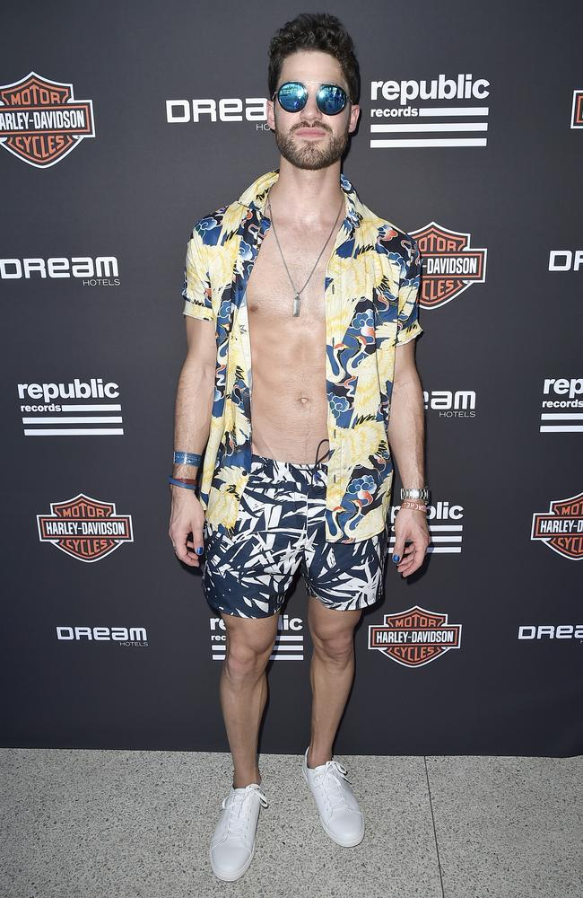 Do up your shirt mate. Picture: David Crotty/Getty Images for Republic Records
