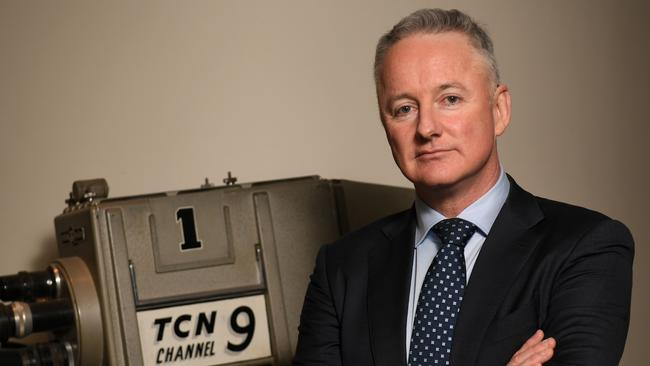 Nine chief executive officer Hugh Marks. Picture: AAP/ Paul Miller