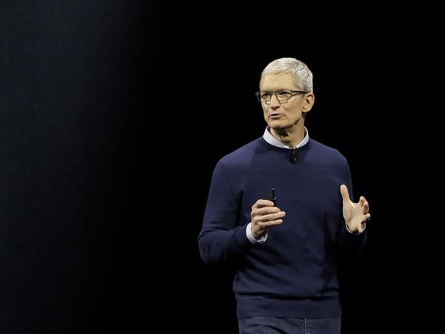 Apple CEO Tim Cook will unveil the new iPhone on Wednesday (Australian time). Picture: AP