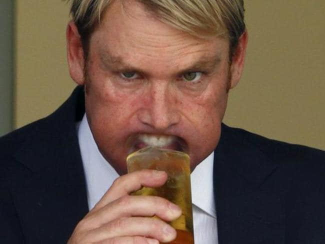 On ya, Warnie.