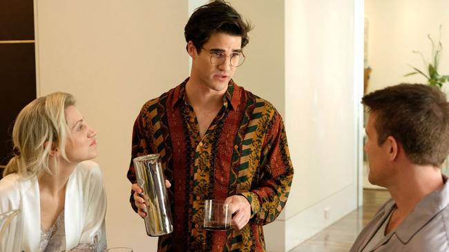 Darren Criss plays killer Andrew Cunanan in The Assassination Of Gianni Versace. Picture: FX