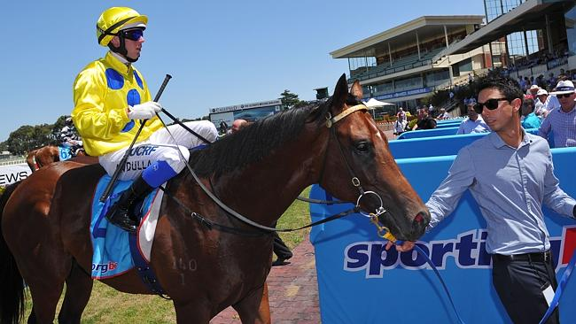 Brenton Avdulla and Rubick after winning the Blue Diamond Prelude (C&G).