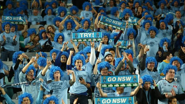 Urging fans to be as loud as they can tomorrow night, NSW coach Daley says it is like having an extra player