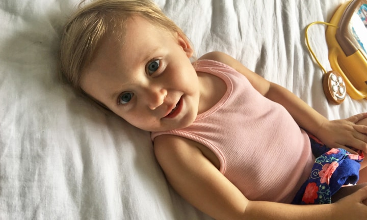 Tumours are growing throughout my toddler's perfect little body