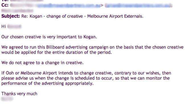 Kogan refused to go along with the changes.