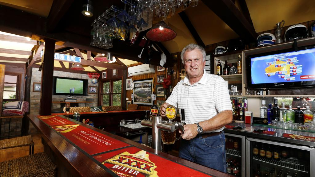 Man Cave Bars Brisbane : Men are spending a small fortune to install pimped out