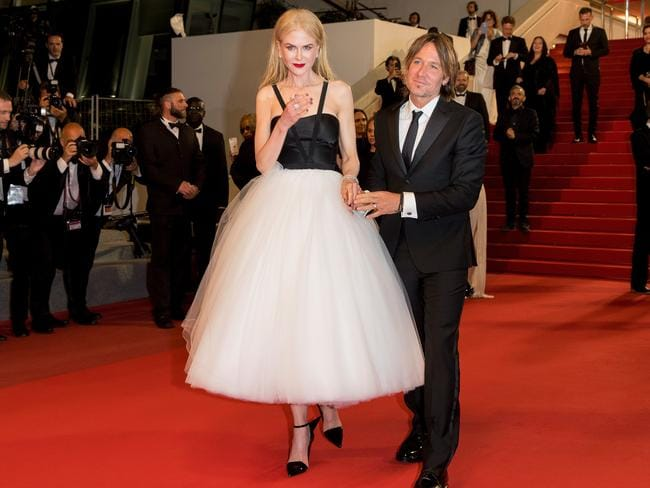 Kidman and hubby. Picture: Getty