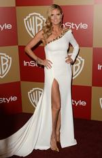 Model Heidi Klum attends the 14th Annual Warner Bros. And InStyle Golden Globe Awards After Party held at the Oasis Courtyard at the Beverly Hilton Hotel on January 13, 2013 in Beverly Hills, California. Picture: Jason Merritt/Getty Images