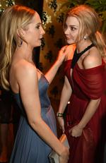 Joanne Froggatt and Natalie Dormer attend HBO's Official Golden Globe Awards After Party at The Beverly Hilton Hotel. Picture: Jeff Kravitz/FilmMagic