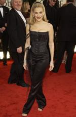 Sarah Jessica Parker channels her inner Madonna at the 2003 Golden Globes. Picture: Kevin Mazur/WireImage