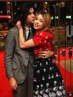 Peaches Geldof and Thomas Cohen attend the UK Premiere of The Wolf of Wall Street at London's Leicester Square on January 9, 2014 in London, England. Picture: Anthony Harvey/Getty Images for Universal Pictures