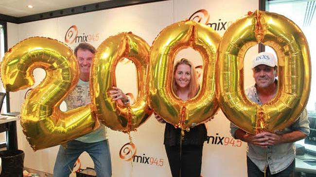 94.5 FM's Clairsy, Shane & Kymba's recently celebrated their 2000th show.
