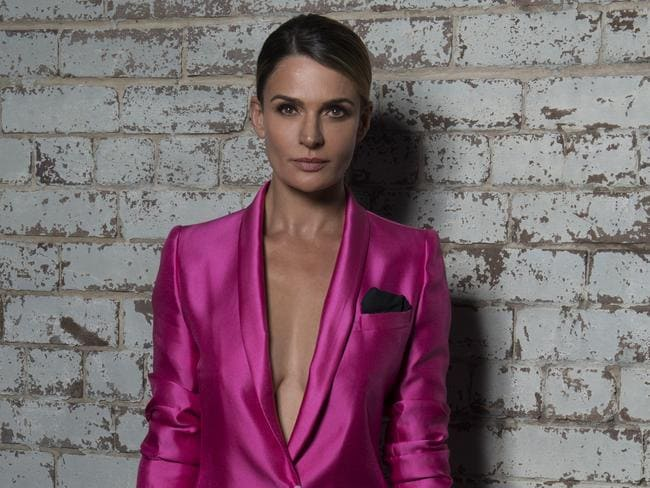 We award Danielle Cormack the Gold Togie. Picture: Darren Tieste