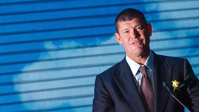 Top end of town ... gaming billionaire James Packer.