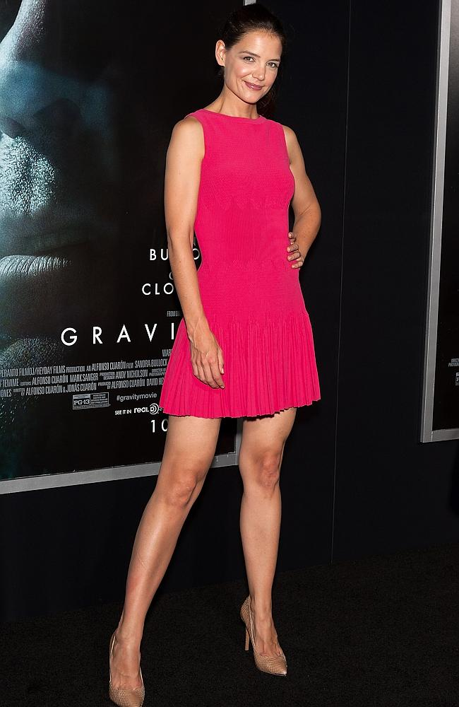 Katie Holmes at the 'Gravity' New York premiere.