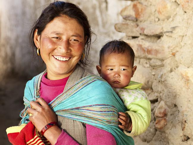 A mother and her baby in Nepal where the supreme court has banned commercial surrogacy. Picture: iStock