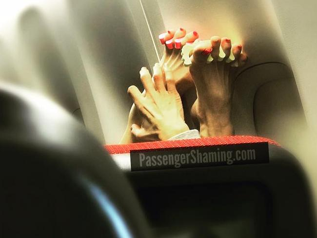 Passengers are the worst. Picture: PassengerShaming.com