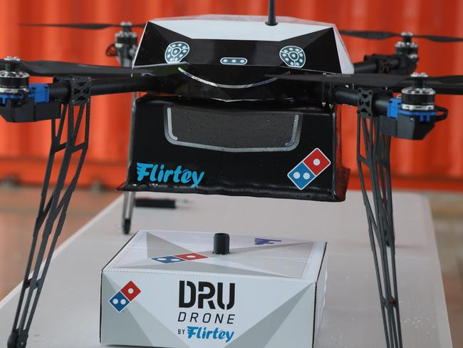 'This is the future of pizza delivery'