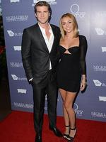 <p>(L-R) Actors Liam Hemsworth and Miley Cyrus arrive at Australians In Film Awards & Benefit Dinner at InterContinental Hotel on June 27, 2012 in Century City, California. (Photo by Jason Merritt/Getty Images for AIF)</p>