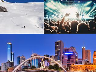 Victorian ski resorts, music festivals and beaches are at risk of terrorist attacks.