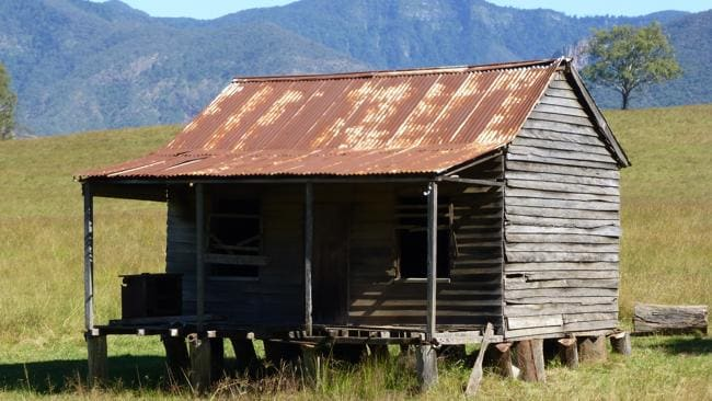 An old rusty house at Spring Creek near Killarney in the Scenic Rim in Queensland Southern Downs. Picture: Angela Saurine