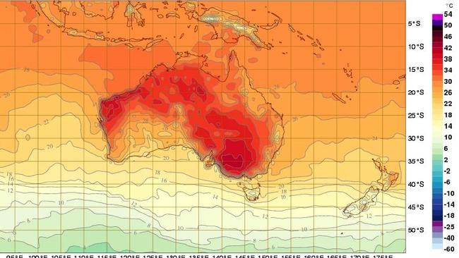 Temperatures will push 30 degrees in Melbourne, Adelaide, Brisbane and Perth on Tuesday and for much of the week. Picture: Supplied.