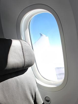 Large windows are one of the features of Jetstar's new Boeing 787.