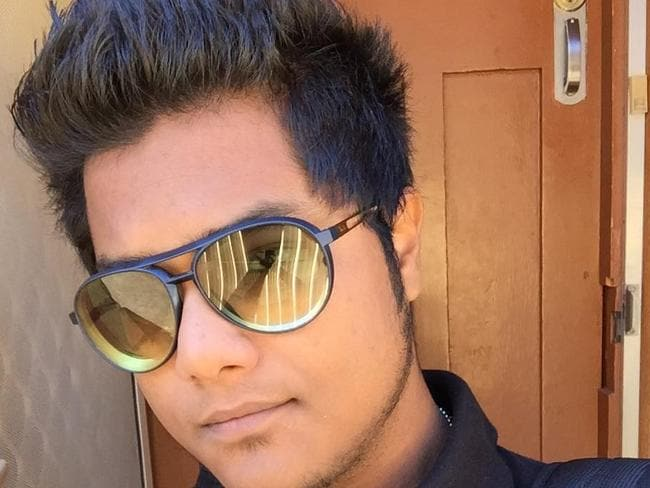 Fahim Rahman Aunik, 20, died after the car he was driving crashed into a power pole.