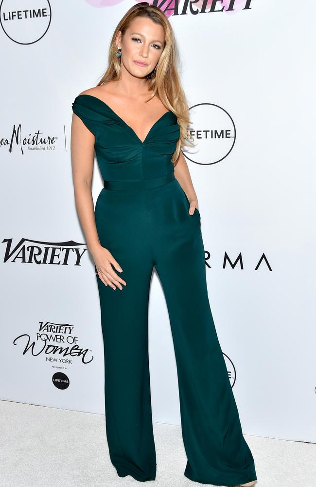 Blake Lively at Variety's Power Of Women luncheon. (Photo by Mike Coppola/Getty Images)
