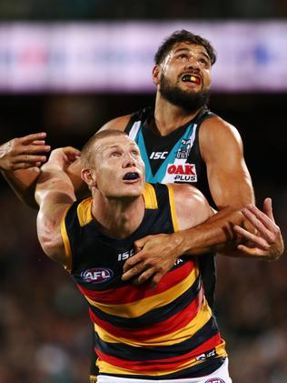 Power ruckman Patrick Ryder was also reportedly targeted.