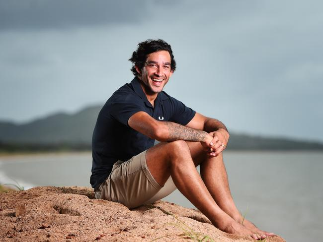 North Queensland Cowboys co-captain Johnathan Thurston is up for Australian of the Year, to be presented tonight. Picture: Zak Simmonds