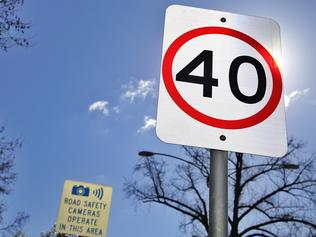 Speed Cameras and 40kmph Signs