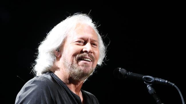 Barry Gibb came in at number two. Pic: Tara Croser.