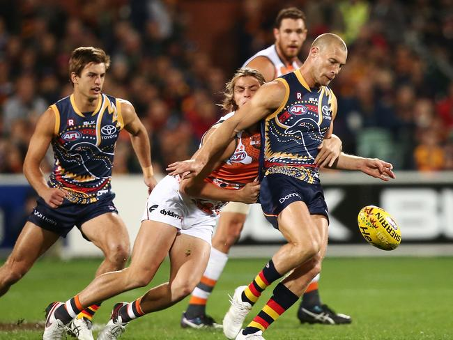 Crows rocket takes off with midfield, says Adelaide ...