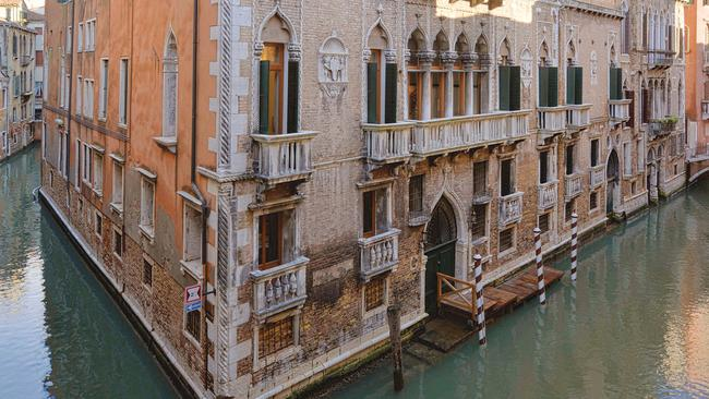 Maybe a Venetian apartment is more your style? You'll need your own boat. Picture: Sotheby's International Realty.