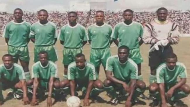 The entire first XI of the Zambian national side were killed.