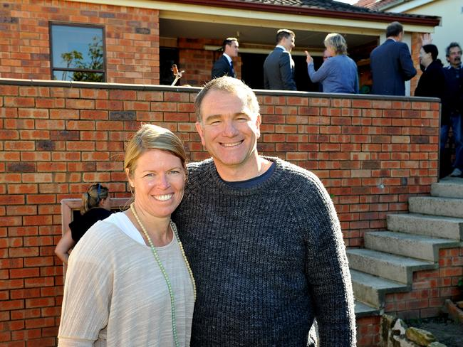 Spur-of-the-moment buyer Kelly Bolger with her partner David Lord. Both insist they are not impulsive.