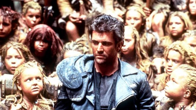 Back then ... Mel Gibson in Beyond Thunderdome.