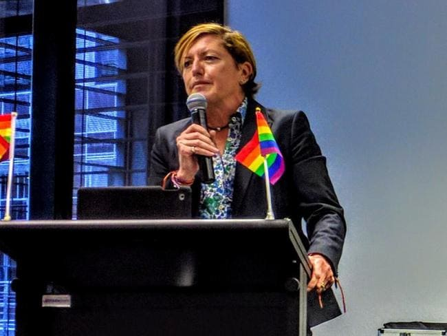 City of Sydney councillor Christine Forster said the minister's comments were 'abhorrent'.