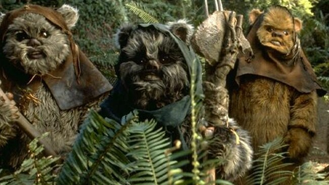 The NT cops named an operation after the teddy-like aliens, the Ewoks. Picture: Lucasfilm