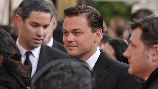 Leonardo DiCaprio is riding high with the success of The Great Gatsby. Picture: AP