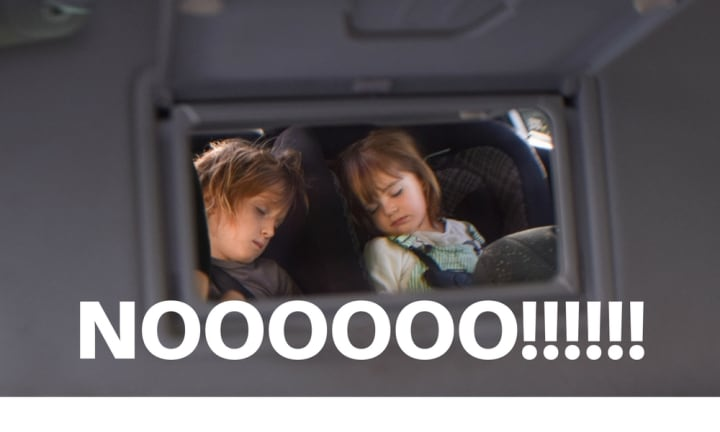 11 things you'll totally get if your kid doesn't transfer from car to cot