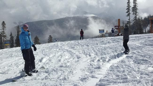 The powdery slopes of Winter Park. Picture: Chanel Parratt.