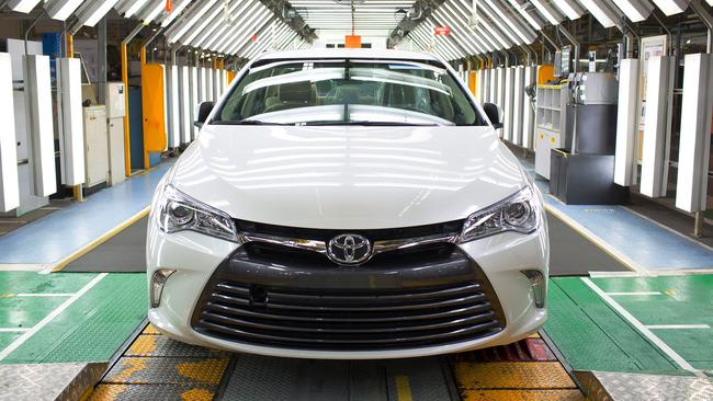 The Toyota Camry factory in Altona was the first full scale car manufacturing plant Toyota has closed anywhere in the world. Picture: Supplied.