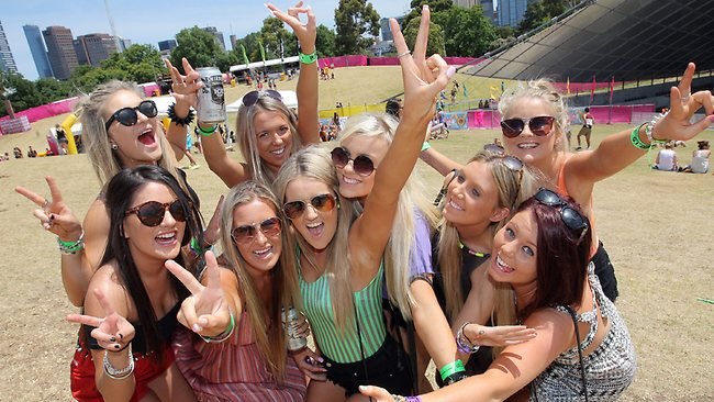 The Summadayze music festival gets the seal of approval. Picture: Ian Currie