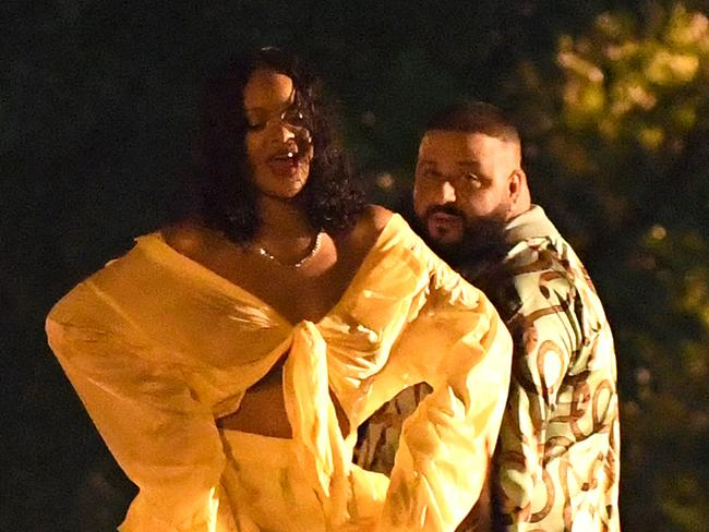 DJ Khaled and Rihanna. Picture: Instar Images